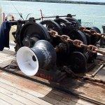 Steam driven capstan