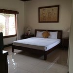 Spacious room but hard bed
