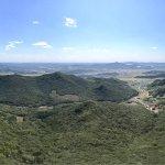 Начало сентября... Восхитительный вид с горы, пиковая точка которой достигает 2145.5 м