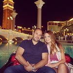 Gondola ride at The Venetian