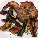 Bistecca di Maiale + grilled vegetables
