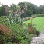 Formal gardens at Tapeley Park