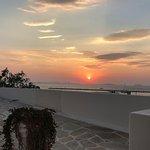 Κάστρο Νάξος ηλιοβασίλεμα