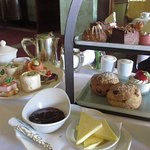 Afternoon tea at Glenlo Abbey