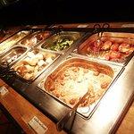 Splendid hot dinner buffet