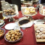 Mouth-watering dessert table