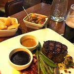 filet steak dinner