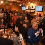 Inside Flat12 Bierwerks for James Hinchcliffe Signing