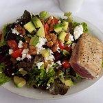 Island Lava Java salad with ahi tuna
