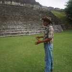 William is very knowledgeable about Maya history
