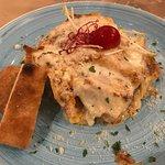 Huisgemaakte zuid-Italiaanse lasagna.