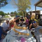Foto de Camping les Plages de l'Ain