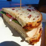 Turkey on Cranberry Rice Bread