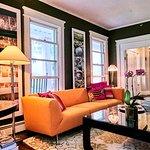 Orange Parlor - The Marble West Inn, Dorset, Vermont