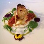 PANNA COTTA ricotta, sheep's milk, tomato jam basil, watercress