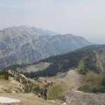 The mountains 11,000 ft elevation