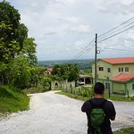 Walking back down to San Ignacio Town