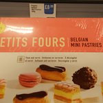 Petits Fours are from Iceland - so not freshly baked.