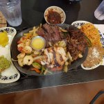 Mixed grill fajitas at Chevys Fresh Mex in Emeryville.