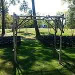 where the wedding ceremony took place