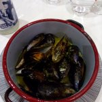 Steamed mussels - very delicios