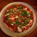 Delicious Tandoori chicken pizza