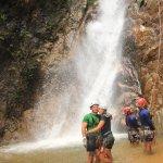 Rappelling Waterfall--Outdoor Adventure