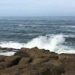 Waves Crashing at Boiler Bay