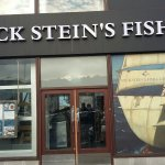 Rick Stein's frontage Falmouth