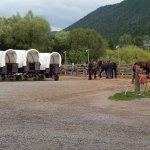 Bar-T-5 Ranch Covered Wagons