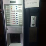 Out-of-order/ broken coffee machine