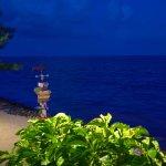 Deck View at Night Tukka Caymans