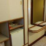 O armário e o frigobar
