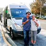 Mark Morrow and Sharon...Terrific Tour Director...YOU will not be disappointed!!