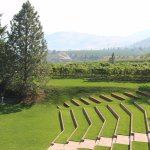 Outdoor theatre seating