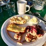 The amazing breakfast! So delicious!