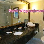 North Wing: Bathroom (Very clean! Yay!!!)