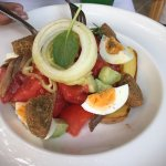 Cretan Salad - Inventive with Herring and Egg