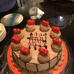 Surpirse birthday cake for Neng