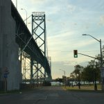 Ambassador Bridge (Canadian side).