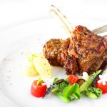 Chef Recommendation - Grilled Lamb Rack Mechoui