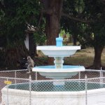 The fountain outside Mirisaveti Stupa in Anuradhapura #1