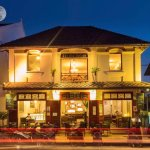 Cafe Ban Vat Sene on a full moon day ! #TimelessLuangPrabang
