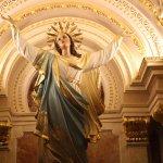 Ile de GOZO, Malte. Victoria (Rabat). La Cathédrale St Georges. La Vierge Marie.