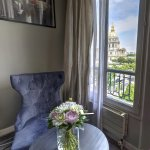 View on the Golden's Invalides Dôme from a privilege room
