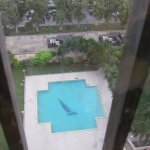 Full view of the pool from 12th Floor