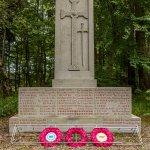 Memorial to area WWI dead