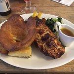 spinach and nut wellington, sunday roast
