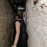 Squeezing through a secret passage