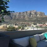 Rooftop view of Table Mountain